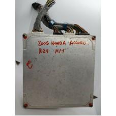 37820-RAD-A04 - 2005 Honda Accord Manual MT ECU ECM PCM 2.4L K24A4 Vtec